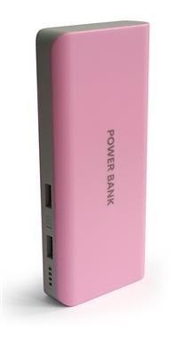 14000 mAh Portable USB Power Bank/External Battery for BlackBerry Aurora,Q10, Z10, DTEK50, Priv, Leap, Classic, Z30 (Aristo), 9720, Q5 - Pink