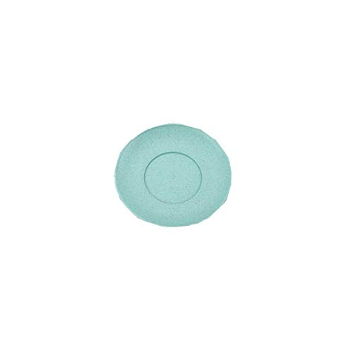 Haoyushangmao Cutlery Set Wheat Dish Western Steak Steak Dish Dish Dish Dish Dumplings Dishware 6 Inches (rice White/Blue/Green/Pink) (Color : Pink, Size : 8 inches)