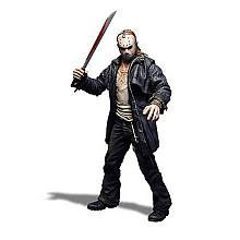 Friday The 13th Mezco Toyz Cinema of Fear 12 Inch Figure Jason Voorhees (2009 Remake Version)