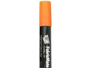 FabricMate Dye Markers Chisel Tip Jumbo Neon Orange Y&C