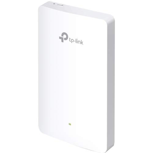 TP-Link EAP225-Wall AC1200 MU-Mimo Omada Cloud Wall-Plate Wireless Wi-Fi Access Point - Supports 802.3AF/at and POE ()