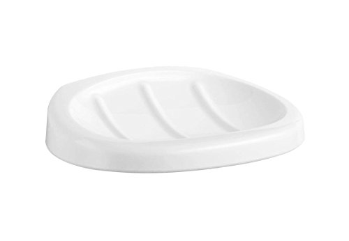 Haceka Uno Soap Dish White - wall mount by Haceka