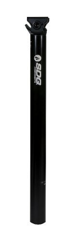 (SDG I-Beam Alloy Micro-Adjust Seatpost 0mm Setback 30.9x400mm Black by SDG)