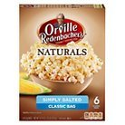 (Orville Redenbacher's Natural Simply Salted Microwave Popcorn 6 ct)