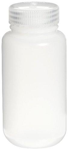 Pack Case Economy - Nalgene 2189-0008 Wide-Mouth Lab Sample Bottle, HDPE, Economy, 250mL (Case of 72)