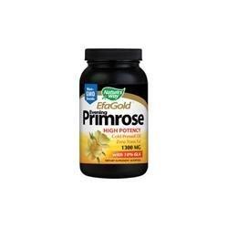 Nature's Way Evening Primrose 1300 Mg Oil Cold Presed Softgels - 1 x 60 Ea ()