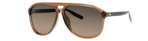 [DIOR HOMME Sunglasses 176/S 03OT Brown Transparent 60MM] (Christian Dior Homme Sunglasses)