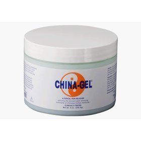 Chine gel topique analgésique 8 oz Jar