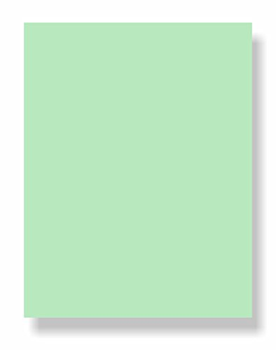 67 Lb. Cover Card Stock, 8-1/2 x 11 Letter Size, 50 Sheets Per Pack - Pastels Cover Stock