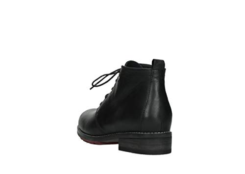 20000 Black Ankle Comfort Fairy Wolky Boots Leather ZTIxwv