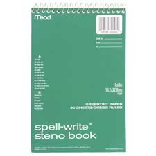Price comparison product image MEA43080 - Mead Spell-Write Steno Book