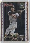 (Hank Aaron (Baseball Card) 1993 Metallic Impressions Cooperstown Collection - Collector's Tin [Base] #1)