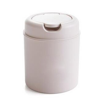 Mini Desktop Cans Home Tool Waste Bins With Lid Household Clean Trash Desk