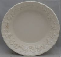 Wedgwood Cream Color On Cream Color Fruit/Dessert (Sauce) Bowl (Imperfect)