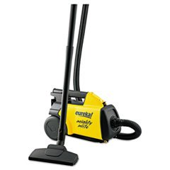 -- Lightweight Mighty Mite Canister Vacuum, 9A Motor, 8.2 lb, Yellow