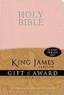 KJV, Gift and Award Bible, Imitation Leather, Pink, Red Letter Edition