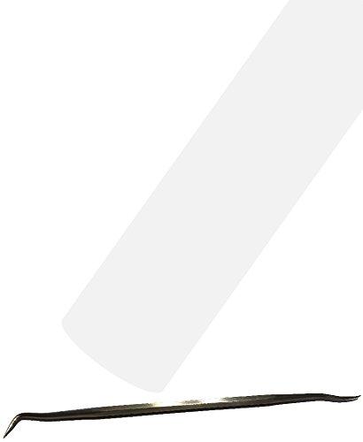 Siser EasyWeed Heat Transfer Vinyl HTV for T-Shirts 12 Inches by 25 Feet Bulk Roll (White)