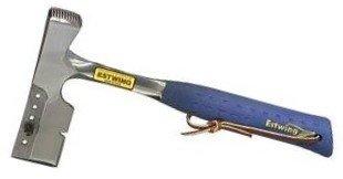 Shingler's Hammer w/Replaceable Gauges - 62141 shingling hatchetfull polish w/milled he by Estwing
