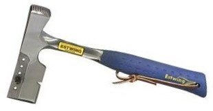 Shingler's Hammer w/Replaceable Gauges - 62141 shingling hatchetfull polish w/milled he