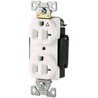 Cooper Wiring IG5362GY Receptacle Duplex Isolated Ground 20A 125V
