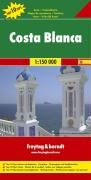 Freytag Berndt Autokarten, Costa Blanca 1:150.000 (Road and Leisure Time Map)