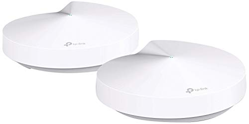 TP-Link PCMag-Best of the Year, Smart Hub & Whole Home Mesh WiFi System,ZigBee,Bluetooth Smart Hub, Homecare Anti-Virus,Tri-Band Dynamic Backhaul, Works with Alexa(Deco M9 Plus)(Renewed)