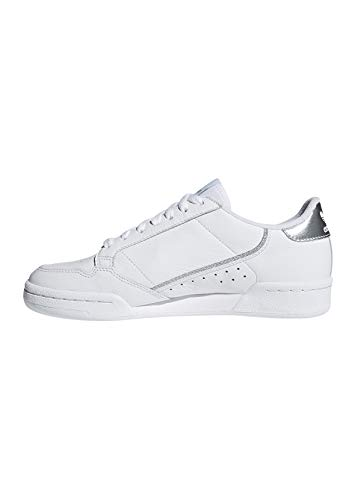 Per Bianco Bianco Donna Sneakers Adidas Continental argento Ee8925 zqUMVSpG