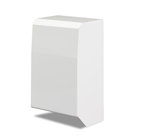 Slant Base - 4 Inch End Cap Only for Slant/Fin Revital/Line Baseboard Heater Replacement Covers in Brite White