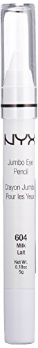 Eyeliner Eye In Eyes (NYX PROFESSIONAL MAKEUP Jumbo Eye Pencil, Milk, 0.18 Ounce)