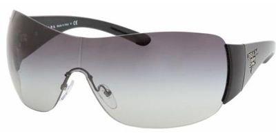 PRADA SPR 22M 1AB-3M1 BLACK SUNGLASSES (3m1 Prada Sunglasses)