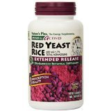 Nature's Plus - Herbal Actives Red Yeast Rice 600 mg Extended Release Tablets - 60 Count  (Pack of 3)