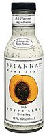 Briannas Home Style Dressings Rich Poppy Seed - 12 fl oz