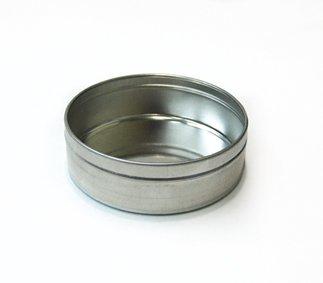Qty. of 200 6 oz. Flat Tin Bodies by Buckeye Shapeform