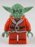 LEGO Star Wars Minifigure - Santa Advant Yoda with Backpack