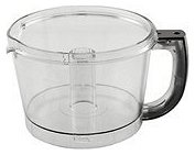 Cuisinart FP-12BKWB 12 Cup Work Bowl with Handle, Black by Cuisinart