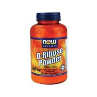 Now Foods D-Ribose Pure Powder - 4 oz, 4oz (Multi-Pack) by NOW ()