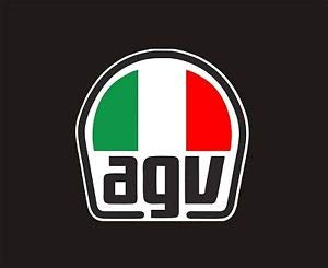 AGV Peak for AX-8 Dual Sport EVO Helmet - Blue/Orange KIT75002041