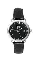 Tissot T-Classic Everytime Black Dial Women's watch #T057.210.16.057.00 by Tissot