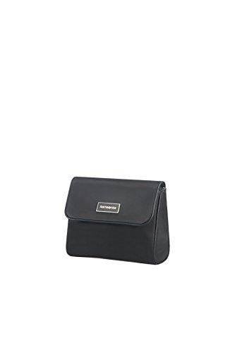 (SAMSONITE Karissa Cosmetic Cases - Flip Pouch Toiletry Bag, 17 cm, Black)