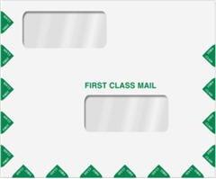 EGP Double Window Tax Return Envelope 11-1/2 x 9-1/2