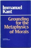 Groundwork for the Metaphysics of Morals, Kant, Immanuel, 0915145006