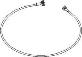 New Tachometer Cable 506334M91 Fits 65 Diesel