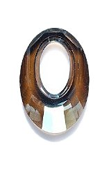 Swarovski Elements 6040 Helios Pendants, Crystal Effects, Bronze Shade, 20mm