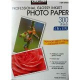 Kirkland Professional Glossy Inkjet Paper 300 sheets 4 in x 6 in