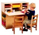 Childcraft Single-Sided Junior Writing Center by Child Craft