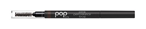 Pop Beauty Peak Performance Brow, Natural Brunette, 0.01 Ounce