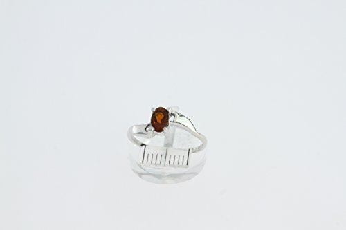 Bague en Grenat J 01 - Bijoux en argent rhodié et Grenat - Toutes tailles et diverses pierres - ARTIPOL