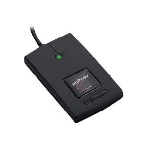 RF IDeas - RDR-7082BKU - Rfideas Pcprox 82 Series Hid Iclass Id# W/ Se Black Usb Reader by RF IDEAS