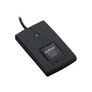 RF IDeas - RDR-7082BKU - Rfideas Pcprox 82 Series Hid Iclass Id# W/ Se Black Usb Reader
