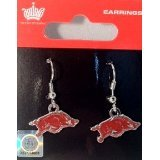 NCAA Arkansas Razorbacks Dangler Earrings by aminco